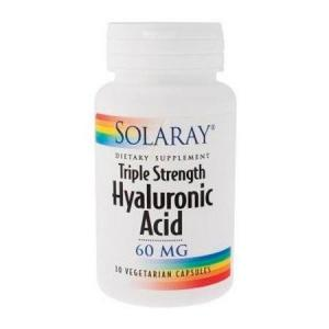 Solaray Hyaluronic Acid 30 cápsulas vegetales