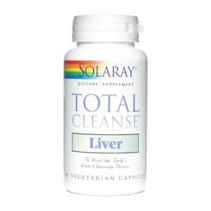 Solaray Total Cleanse Liver 60 cápsulas vegetales
