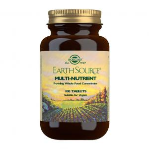Solgar Earth Source Multivitamínico y Mineral 180 comprimidos