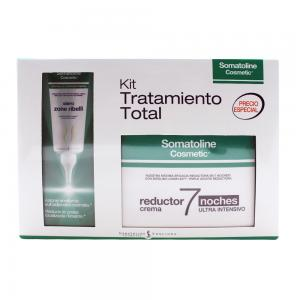 Somatoline Kit Tratamiento Total 7 noches 450ml + Zonas Rebeldes 100ml