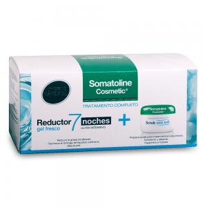 Pack Somatoline Reductor Ultra Intensivo 7 Noches Gel Fresco 400ml + Exfoliante 350gr