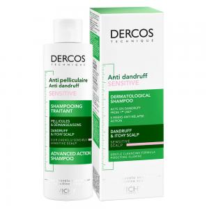Vichy Dercos Champú Anticaspa Sensitive Sin Sulfatos  200ml