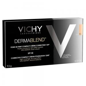 Vichy Dermablend Maquillaje compacto 9.5g Tono 15-Opal
