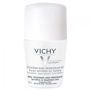 Vichy Desodorante Roll-on Anti-Transpirante Piel Sensible 50ml