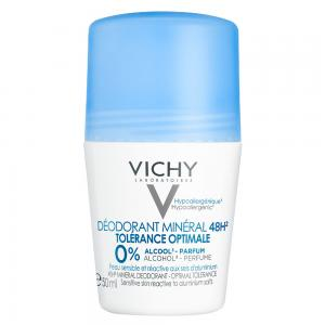 Vichy Desodorante Mineral Roll-on 48h Optimal Tolerance 50ml