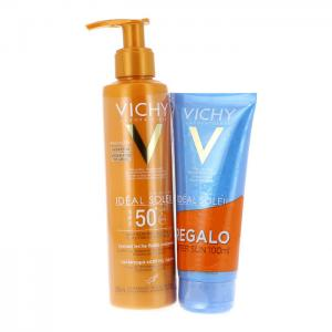 Vichy Ideal Soleil Leche Antiarena SPF50+ 200ml + Aftersun de Regalo