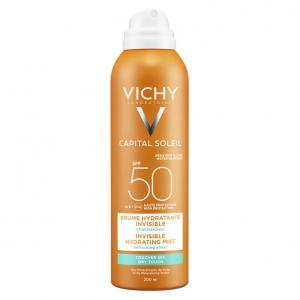 Vichy Ideal Soleil SPF50 Bruma hidratante invisible Aerosol 200ml
