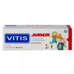 Vitis Junior Gel Dentífrico Sabor Tutti Frutti 75ml