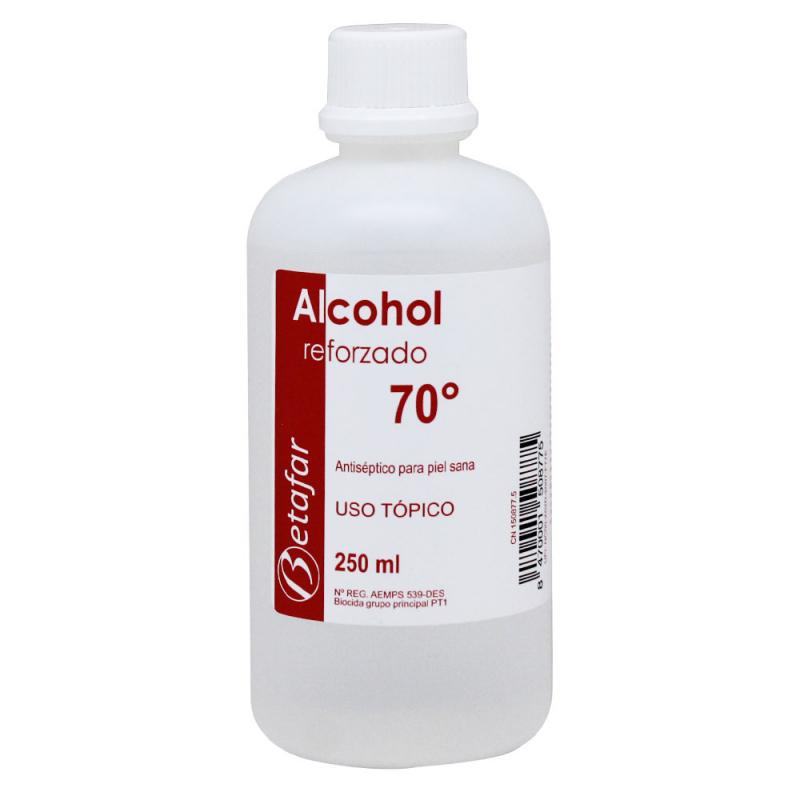 Betafar Alcohol Reforzado 70º 250ml