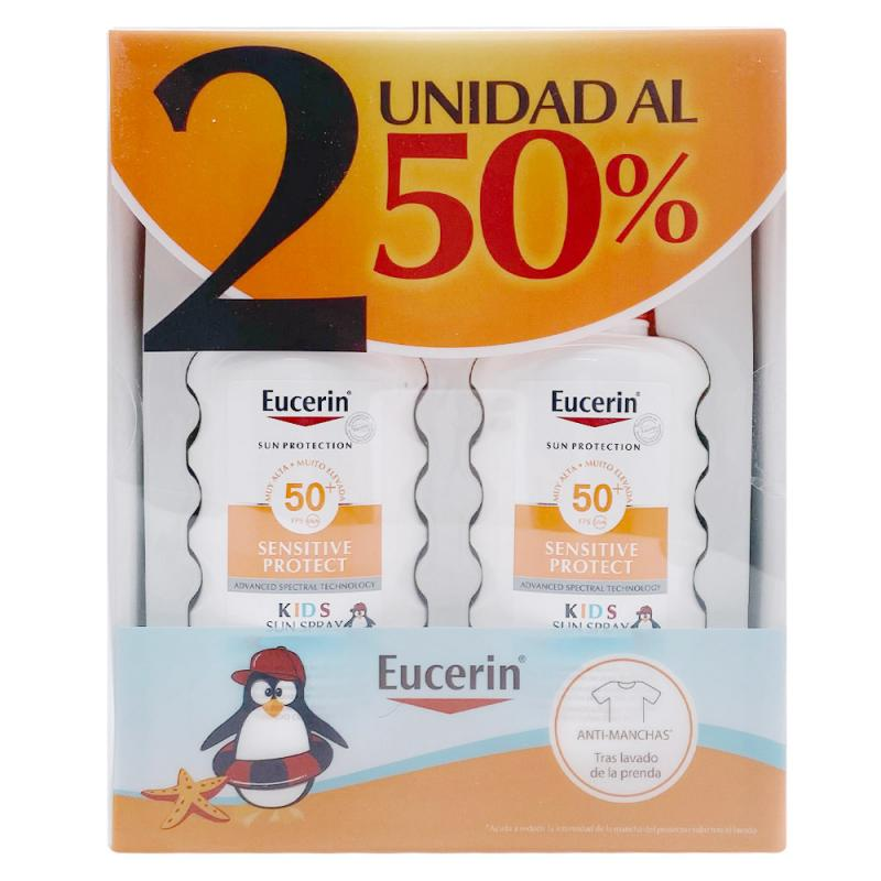 Duplo Eucerin Sun Sensitive Protect Spray Kids SPF50 2x200ml