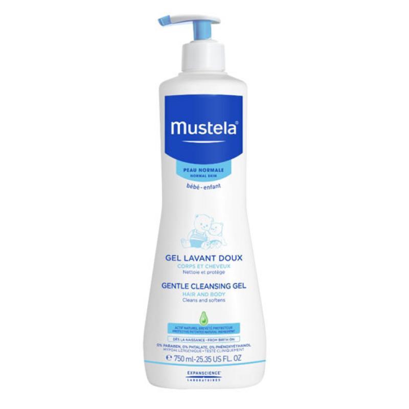 Baño Infantil Mustela:Mustela Gel de Baño Suave 750ml