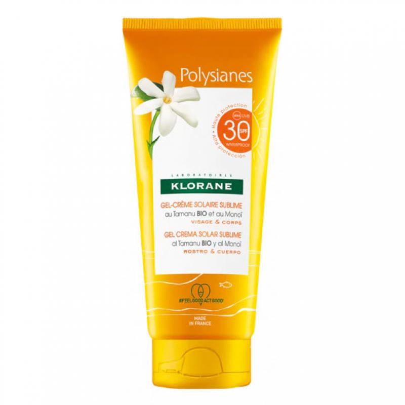 Polysianes Gel Crema Sublime Cara y Cuerpo SPF30 200ml
