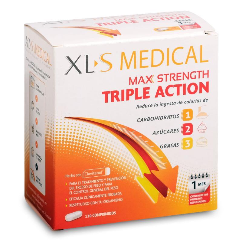 c704abbd1ff8 XLS Medical Max Strength 120 comprimidos   64.95€